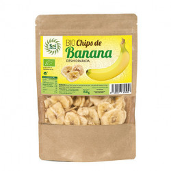 Chips De Banana Bio 150 G Sol Natural