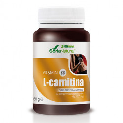 Vit&Min 23 L-Carnitina 60 Comp. Soria Natural